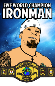 EWF CHAMPION IRONMAN MIKE MAZE