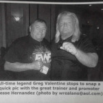 "Jesse Hernandez & Greg ""The Hammer"" Valentine"