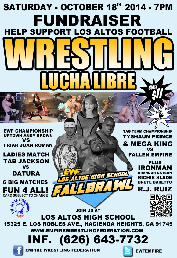 Saturday October 18th in Hacienda Heights, CA @ Los Altos High School | Hacienda Heights | California | United States