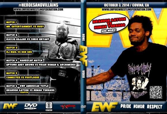 EWF DVD October 3 2014