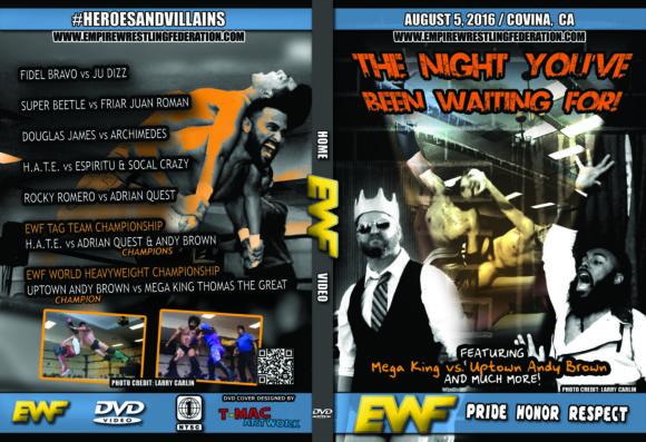 EWF DVD August 5 2016